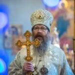 Глава Томской митрополии возглавил праздничное богослужение в Знаменском храме г. Томска