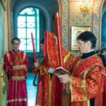 К празднику Пасхи диакон Знаменского храма удостоен архиерейской награды