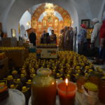 Православные отмечают медовый Cпас