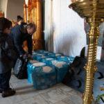 Подопечные семьи Знаменского прихода получили гуманитарную помощь