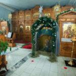 В Знаменском храме торжественно встретили Рождество Христово