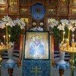 В Знаменском храме отметили престольный праздник