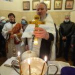 В Знаменском храме молитвенно отметили праздник Крещения Господня