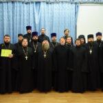Священнослужители Знаменского храма успешно окончили курсы повышения квалификации